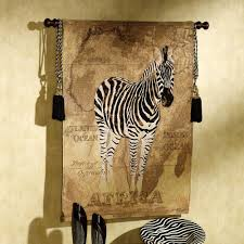 african voyage ii zebra wall tapestry