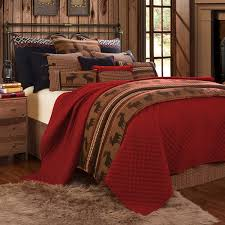 delectably yours bayfield lodge coverlet bed set accessories by hiend accents