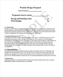 Website Proposal Template Impressive 48 Simple Proposal Templates Free Premium Templates