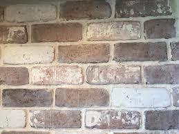 Brick Backsplash Tile doityourself brick veneer backsplash white wash brick bricks 5092 by guidejewelry.us