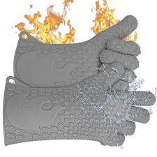 Ekogrips Max Heat Silicone Bbq Cooking Gloves 3 Sizes