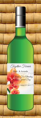 Diy Wine Bottle Labels 36 Best Personalized Mini Wine Bottle Labels For Wedding Favors
