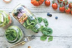 how can i beat a weight loss plateau salad jars
