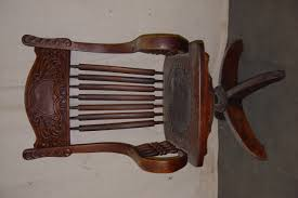 hh0617100opboc oak pressed back office chair