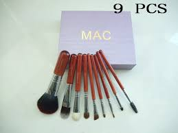 pro outlet mac brush set 9pcs