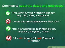When To Use Comma How To Use Commas With Cheat Sheet Wikihow