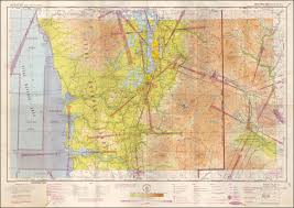 New Mexico Sectional Chart Restricted Seattle Sectional Aeronautical Chart