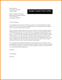 10 First Year Teacher Cover Letter Offecial Letter