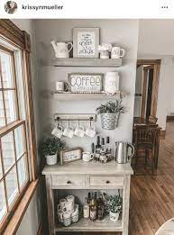Diy black pipe coffee station 30 Latest Diy Coffee Station Ideas In Your Kitchen Trendedecor