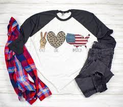 Next Level Raglan Shirt Size Chart Peace Love America Peace Love Texas Next Level Raglan