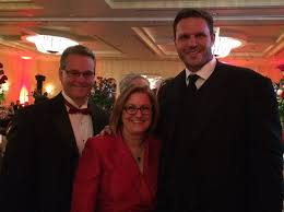 """Tom VanOsdol on Twitter: """"Fabulous night at St. Vincent's Red Rose Ball  with Kathy and future Jags Hall of Famer Tony Boselli!  https://t.co/IlxdgCjWoH"""""""