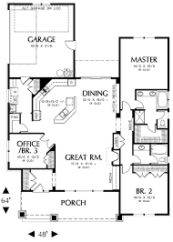 3 bedroom house plans with attached garage. like the floor plan reversed without garage attached, master bedroom in back 3 house plans with attached