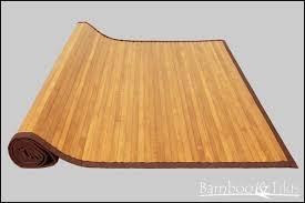 bamboo kitchen mat photo 1