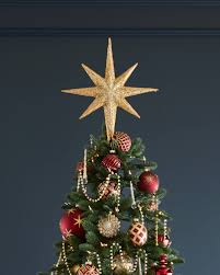 ... Star Beaded Tree Topper by Balsam Hill ...
