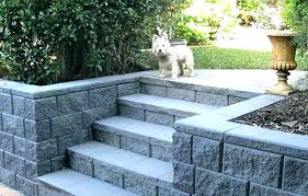 building a block retaining wall landscaping block calculator cinder block retaining wall how to build a
