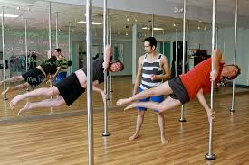 men seeking workout challenge take pole dancing cl for a spin houstonchronicle