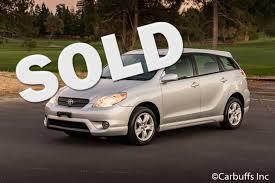2005 Toyota Matrix XR   Concord, CA   Carbuffs   Concord CA 94520