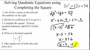 solve the equation completing square photoshots wonderful