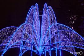 Zimmerman lighting Soda Glass Winter Festival Of Lights The Zimmerman Fountain Is Beautiful Sight With Its Lights Shimmering Tripadvisor The Zimmerman Fountain Is Beautiful Sight With Its Lights