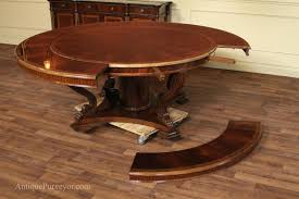 extendable wood dining table expandable dining table round expandable round dining table