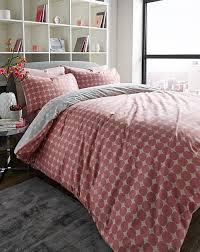 esme dusky pink duvet cover set