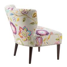 Slipper Chair Madison Park Korey Channel Back Slipper Chair Ebay