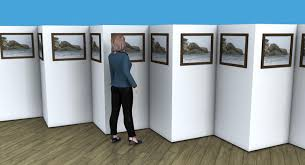 Art Gallery Display Stands