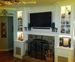 built in wall units entertainment center riverside 1 custom cabinets around your fireplace custom built in