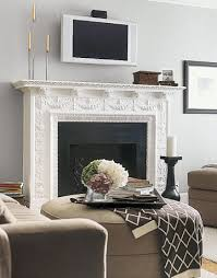 decorating around the television the decorologist mount tv above gas fireplace