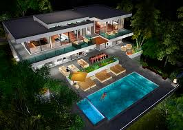 two story modern glass home design next generation living homes