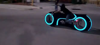 tron electric light cycle