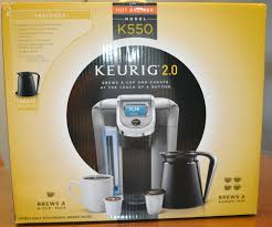 Coffee Maker Carafe And Single Cup Keurig 20 Model K550 Coffee Brewing System Review