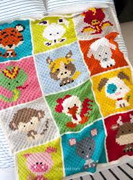 27 Crochet Animal Blanket Patterns | AllFreeCrochet.com & Animal Crochet Afghan Patterns That Are Perfect For Baby Showers Adamdwight.com
