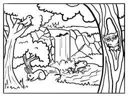 Small Picture Forest Animals Coloring Pages GetColoringPagescom