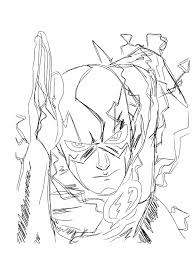 Small Picture Dc Comics The Flash Coloring Pages The Flash Coloring Pages Kids