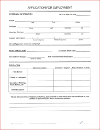 Free Printable Fill In The Blank Resume Templates Best Of A Blank Resume form to Print Out job latter 45