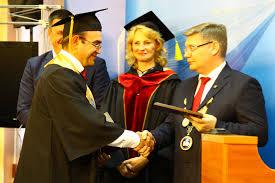 Вручение дипломов МВА