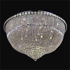 crystal flush mount chandelier. Large Ceiling Lights - Crystal Flush Mount Light | Rosette Dreams 539 By GLOW Lighting Chandelier