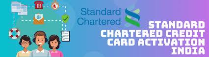 scb card login banking india