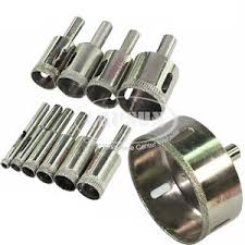 diamond bit. image is loading diamond-coated-drill-bit-hole-saw-glass-granite- diamond bit