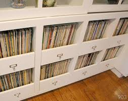 Designer Kenneth Brown offers this smart idea for integrating vinyl record  collections into a home. Instead of bulky record shelves (which is what I  ...