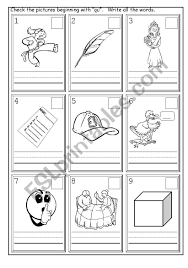 See our extensive collection of esl phonics materials for all levels, including word lists, sentences, reading passages, activities, and worksheets! English Worksheets Phonics Qu