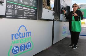 Reverse Vending Machine Australia Delectable Reverse Vending Machines As Earners For Local Schools Charities