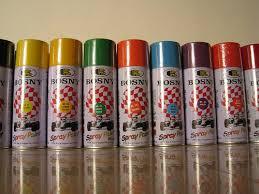 Bosny Spray Paint Color Chart For The Average Modeler