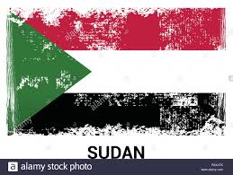 Sudan Design Sudan Flag Design Vector Stock Vector Art Illustration