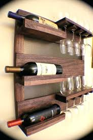 wooden hanging wine rack wall mount wine glass rack inspirations for wall mount wine rack wall