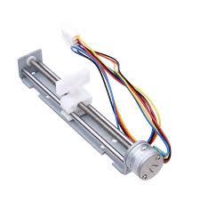 dc 4 9v drive stepper motor screw nut slider 2 phase 4 wire dc 4 9v drive stepper motor screw nut slider 2 phase 4 wire
