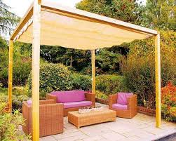... and adults will love to have some fun under these intimate, but  enchanting areas. Check out these DIY canopy and sun shade designs for your  backyard.