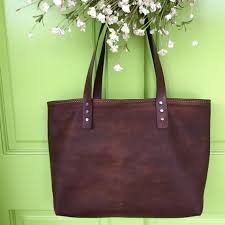 small soft leather handbag custom made handbag leather tote distressed leather bag handmade in the usa qfertpoxhy