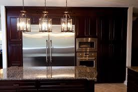 wonderful kitchen island lighting pendants kitchen pendant lighting bronze stainless steel double door refrigerator grey granite